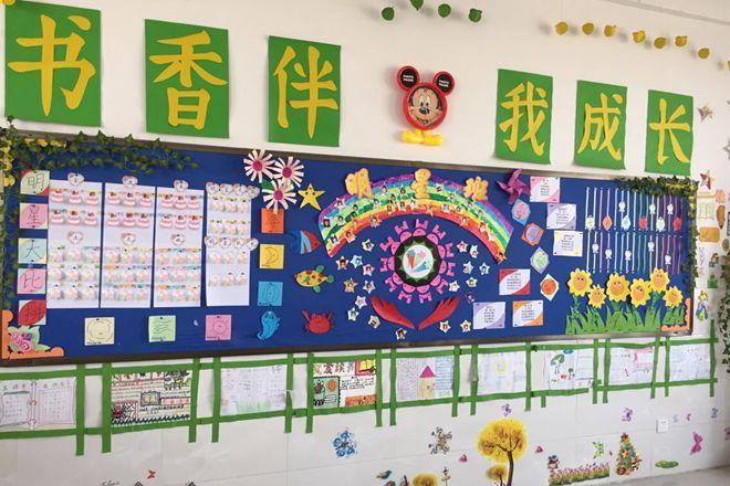 品味书香,快乐成长 ——我校小学部书香班级文化评比