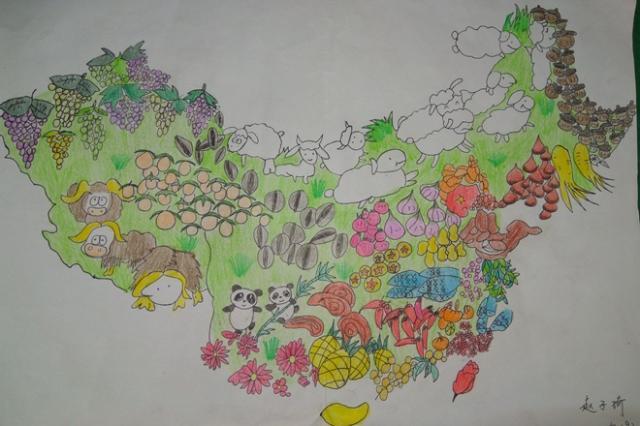 """我校成功举办""""美丽中国""""少儿手绘地图校选拔赛"""